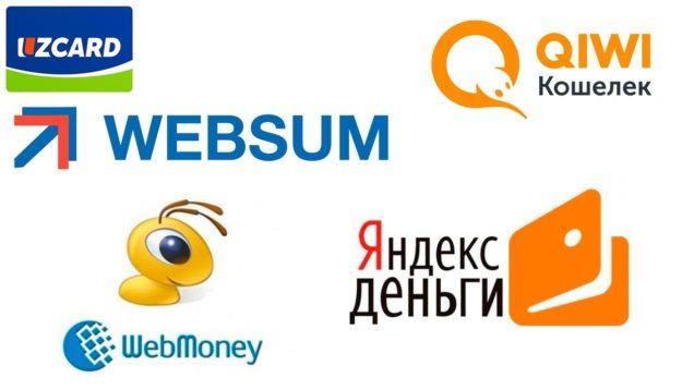 UzCard: Webmoniy. qiwi xamyonlarga pul tashlash! (Websum)